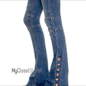 Free People Skyler NWT RARE Skinny Flare Jeans! 28